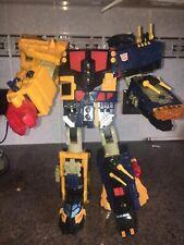 Transformers Energon Omega Supreme enorme no completar