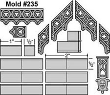 Hirst Arts #235 Gothic Roof Mold New RPG Terrain Fast Shipping
