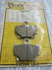 NOS Victor Brake Pad Set Yamaha RZ350 XS400 XZ550R XJ750 XJ650L FA81