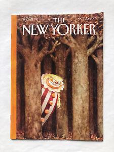 New Yorker Politics Culture Life Art Trump Clown Pennywise C.Goodrich Oct 2017