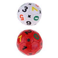 Unisex Kids Children Size 2 Football Soccer Ball Training Aid - 2 Colors
