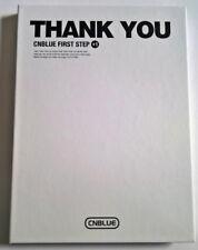 CNBLUE THANK YOU First Step +1 Korea Press CD Album - No photocard