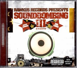 Rawkus Records Soundbombing 3 III 2002 OG CD Compilation Hiphop R&B V/A Artists