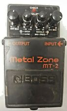 BOSS METAL ZONE  AUDIO SYSTEMS EFFECTS MT-2