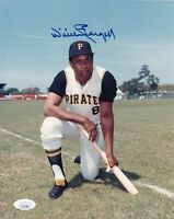 "WILLIE STARGELL Autographed 8"" X 10"" Photo James Spence (JSA) Authenticated COA"