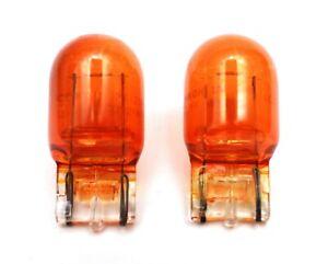 2x OEM Ichikoh Japan WY21W 7443 Amber Turn Signal Light Bulb 12V 21W Lamp