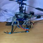 ALIGN RC 3D HI-PRO HELICOPTER FOR PARTS. INCLUDES MOTOR.