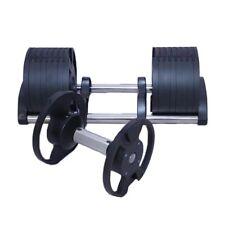 Pair Of Adjustable Dumbbell 32kg - 2 x 32kg PAIR SET ( 64kg total )