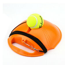 Outdoor Tennis Ball Singles Training Practice Drills Back Base Trainer Y8
