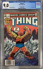 THE THING #1 CGC 9.0 75 cent CANADIAN PRICE VARIANT JOHN BYRNE STORY & COVER WOW