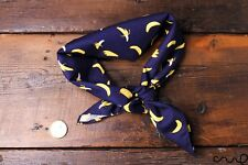 Handmade Cotton Banana Bandana Retro Vintage Chic Unique Headband Neck Scarf A