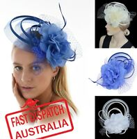 Melbourne Cup Wedding Spring Racing Carnival Headband Clip Hatinator Fascinator