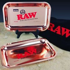 Raw Rose Gold Rolling Tray  **1 Of 420**
