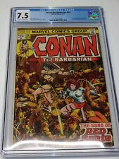 Conan the Barbarian #24 CGC 7.5 1st Full Appearance Red Sonja 1973 Great Key