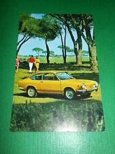 Cartolina Pubblicità Auto - Fiat 850 Sport Coupé 1970 ca