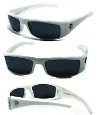 BioHazard Mens Sunglasses w/Free Pouch - White BZ1