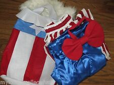 2013 NWT Pottery Barn Kids Uncle Sam adult costume size small Halloween Taxes