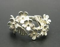 Sterling silver ring solid 925 Flower R000603 Empress