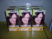 6 Garnier Nourishing Hair Color Creme Avocado Olive Shea Oils Black Licorice #10