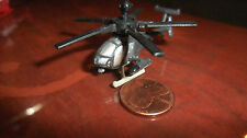 MILITARY Micro Machines 530MG 530 MG DEFENDER HELICOPTER GRAY