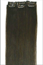 """Fits like a Halo Hair Extensions 16""""-20"""" SECRET INVISIBLE Wire 100g Flip In Clip"""