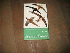 PETERSON/MOUNTFORT/HOLLOM/GEROUDET: Guide des oiseaux d'Europe