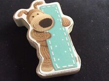 BNWT New Boofle Bear Wooden Alphabet Hanging Plaque Letter I