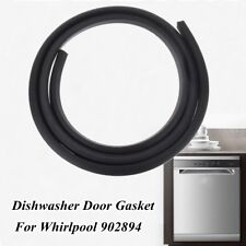 Dishwasher Rubber Door Seal Gasket Black Fit Whirlpool 902894 WP902894 PS2097160