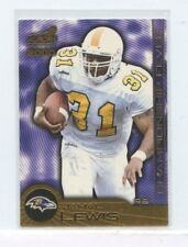 JAMAL LEWIS 2000 Pacific Aurora Championship Fever Rookie Card #2 Ravens