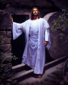 Dream-art oil painting Christ Jesus - Resurrection of Christ at night canvas art