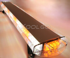 "1.6M 120W LED ROOF TOP VEHICLE WARNING FLASHING EMERGENCY STROBE LIGHT BAR 63"""