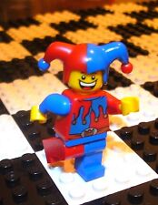 Lego Court Jester Minifigs Clown Castle Town City 7079
