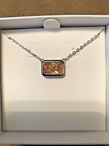 women's Morganite And Topaz necklaces silver 925