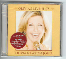 CD Newton-John OLIVIAs HITS LIVE USA 2008 Xanadu Physical Don't Stop Believin'