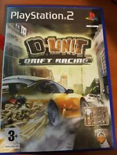 D-UNIT DRIFT RACING - PLAYSTATION 2 PS2 USATO