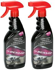 2 Stk. Dunlop Lederpflege Leder Reiniger Lederreiniger Autopflege Cleaner 500ml