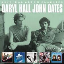 DARYL HALL & JOHN OATES - ORIGINAL ALBUM CLASSICS (OOH YEAH/+)  5 CD  NEU