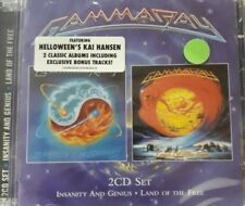 GAMMA RAY- INSANITY AND GENIUS+ LAND OF THE FREE NEW SEALED NUOVO SIGILLATO RARO