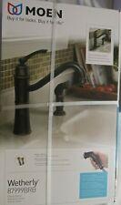 Kitchen Faucet Sngl Spray Brnz,No 87999BRB, Moen Inc/Faucets