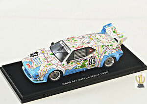 1:43 Spark S6402 BMW M1,24hrs Lemans 1980, #83
