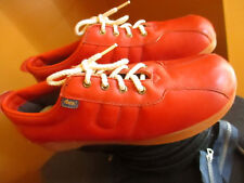 NOS 10.5 N NEW 70s DEXTER Dex True Vtg Leather Hot Brown Shoes Womens USA