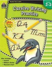 Cursive Writing Practice, Grades 2-3 (Paperback or Softback)