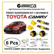 2006-2017 TOYOTA CAMRY Front Suspension Polyurethane Bushing KIT set of 6