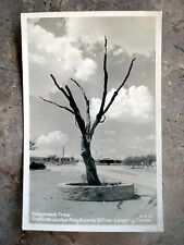 Vintage Hangman's Tree-Outside Judge Roy Bean's Office Langtry, Texas  Postcard