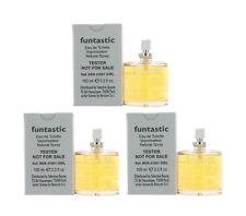 Funtastic by United Colors of Benetton for Girls EDT 3.3oz Tester 3PK