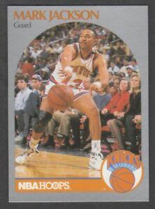 1990-1991 NBA Hoops Mark Jackson Knicks Card #205 w/ Menendez Brothers Courtside