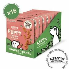 Lily's Kitchen (16 x 70g) Puppy Chicken and Salmon Nibbles Grain Free Dog Treats