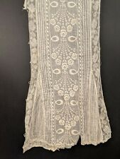 ANTIQUE EDWARDIAN EMBROIDERED DRESS PANEL FOR FABRIC