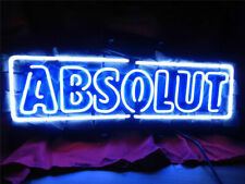 "New Absolut Vodka Neon Sign Beer Bar Pub Gift Light Lamp 20"""