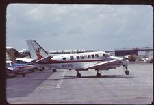 Orig 35mm airline slide Britt Airways Beech 99 N1031S [0092]